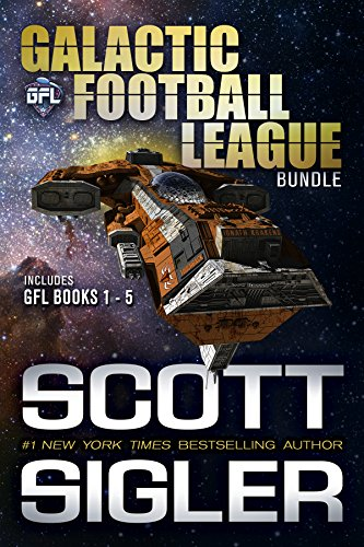 Galactic Football League Bundle: Space opera adventure with aliens, intruigue, and sports superstars (English Edition)