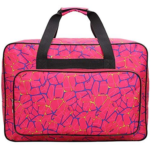 Fhdpeebu borsa universale per macchina da cucire borsa da trasporto borsa da trasporto e custodia è compatibile con la maggior parte degli standard Singer, Brother, Janome-38 x 25 x 18 cm