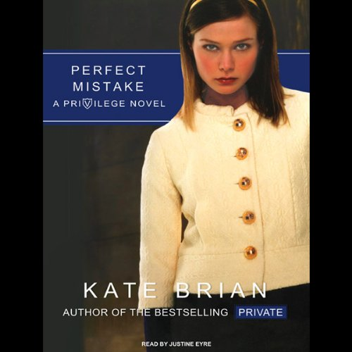 Perfect Mistake audiobook cover art