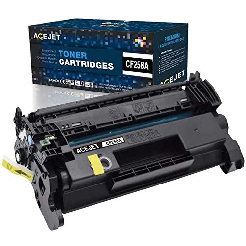ACEJET Compatible 58A Toner Cartridge Replacement for HP CF258A Toner Cartridge for Use in HP Laserjet Pro M404n M404dn M404dw MFP M428fdn MFP M428fdw M304n M304dn M304dw Printer(Black, 1-Pack)