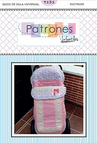Patrón de costura para realizar un saco universal para carro de bebé y hacerlo tú misma. Tutorial en vídeo para ayudarte a realizarlo.