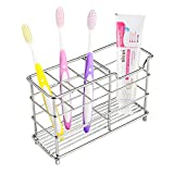 Veryke Stainless Steel Toothbrush Holder Toothpaste Holder Stand...
