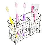Veryke Stainless Steel Toothbrush Holder Toothpaste Holder Stand...
