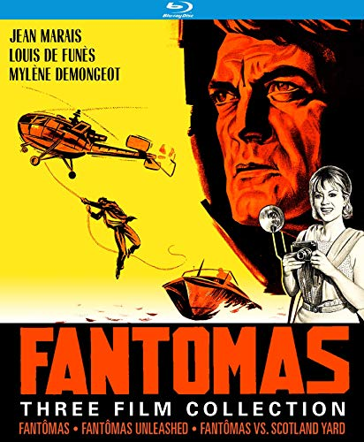Fantomas 1960s Collection (Fantomas / Fantomas Unleashed / Fantomas vs. Scotland Yard) [Blu-ray]