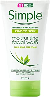 Simple Moisturizing Facial Wash, 150ml
