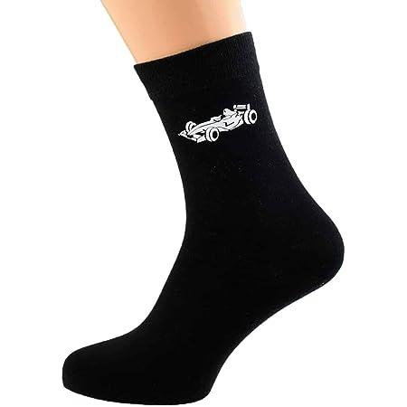 Ashton and Finch Racing Car F1 Mens Socks - Fun Novelty Gift Idea