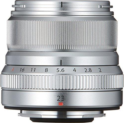 Fujifilm FUJINON Lens XF23MMF2 R WR- Objetivo, color plateado