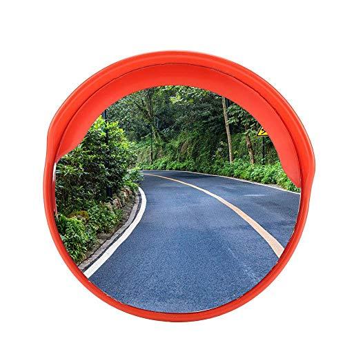 30cm/45cm/60cm Specchio Convesso di Sicurezza, Specchio panoramico Stradale infrangibile traffico per la sicurezza stradale e la sicurezza negozio (30cm)