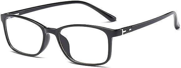 عینک آفتابی ANRRI برای استفاده از کامپیوتر، عینک محافظ UV محافظ صفحه محافظ قاب سیاه و سفید، مرد / زن
