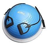 UMI. by Amazon -Balance Trainer Fitball Bola de Equilibrio para Entrenamiento 60cm con Inflador y Bomba para Fitness Gimnasio