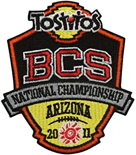 2011 BCS Championship Embroidered Collectible Patch