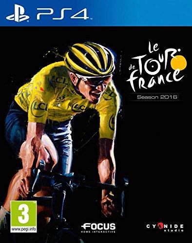 Digital Bros Tour de France 2016, PS4 Básico PlayStation 4 Francés vídeo - Juego (PS4, PlayStation 4, Simulación, Modo multijugador, E (para todos))