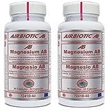 Airbiotic - MAGNESIO AB 150 mg 60 cápsulas - como bisglicinato mayor absorción (Pack 2 u.)