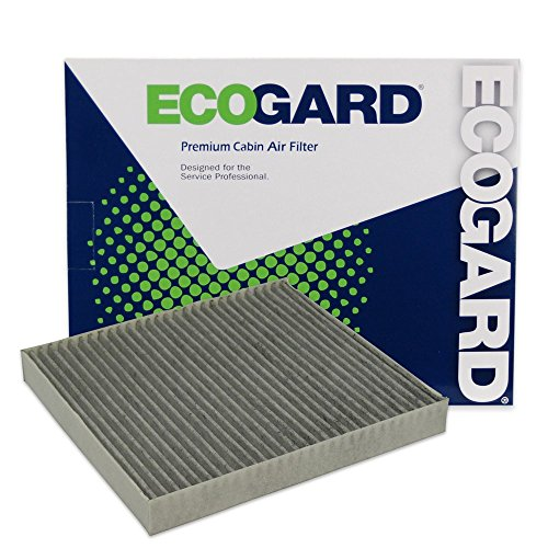 ECOGARD XC25869C Premium Cabin Air Filter with Activated Carbon Odor Eliminator Fits Ram 1500 2011-2021, 2500 2011-2021, 2500 DIESEL 2016-2020, 1500 Classic 2019-2021, 3500 DIESEL 2016-2020