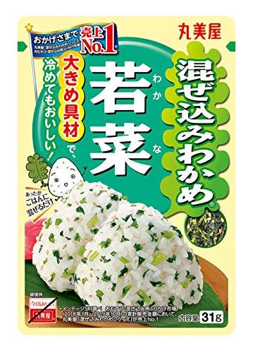 丸美屋 混ぜ込みわかめ 若菜 31g×10袋