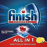 Finish All in 1 Citrus Spülmaschinentabs, Geschirrspültabs für kraftvolle Reinigung,...