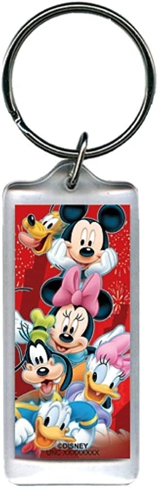 Disney Heroes Mickey Minnie Goofy Donald Sales of SALE items from new works Keyc NEW before selling ☆ Lucite Pluto Daisy