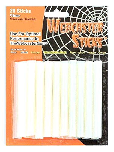 Forum Novelties 20-Count Webcaster Web Gun Refill Sticks