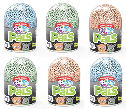 Educational Insights Playfoam Pals Monster Party 6-Pack | Non-Toxic, Never Dries Out| Sensory, Shaping Fun, Arts & Crafts For Kids | Includes Glow in the Dark Playfoam | Ages 5+