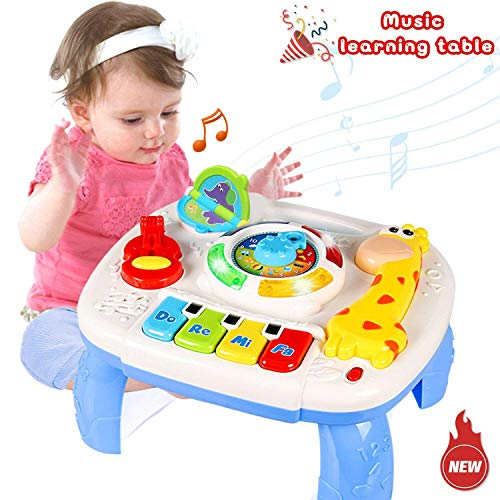 BabyGo Giraffe Baby Learning Table Music and Lights
