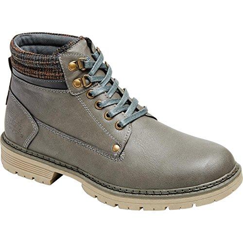 Spirit Motors Chaussures De Loisirs Chaussures à Lacets 1.0 Gris 41, Hommes, Casual/Fashion, Toute l'année