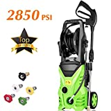 Homdox 2850PSI Electric Pressure Washer, High Pressure Washer, Professional Washer Cleaner with 5 Interchangeable Nozzles