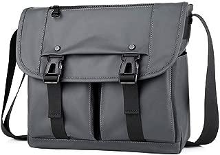 Zyyqt Men's Business Bag, Oxford Material Business Casual Briefcase Crossbody Men's Shoulder Bag