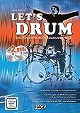 Let's Drum + 2 DVDs: Die moderne Schlagzeugschule - Helmut Hage