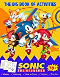 The Big Book of Sonic the Hedgehog Activities: Sonic The Hedgehog Activity Book for kids   Fun Mazes   Puzzles   Dot-to-Dot   How to Draw Sonic   Spot ... Book for Kids Ages 4-8, Boys and Girls