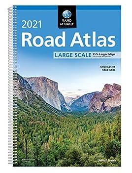Rand McNally 2021 Large Scale Road Atlas  Rand McNally Road Atlas