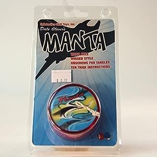Spintastics Manta Ray Yo-Yo from Dale Oliver - Red