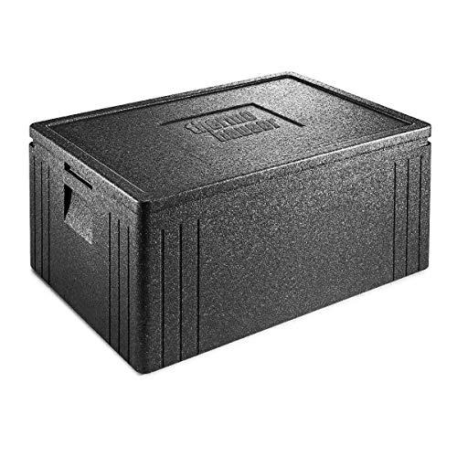 thermohauser EPP-Thermobox Universal Eco Line schwarz, mit Deckel, 80,0 L