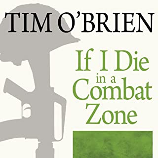 If I Die in a Combat Zone audiobook cover art