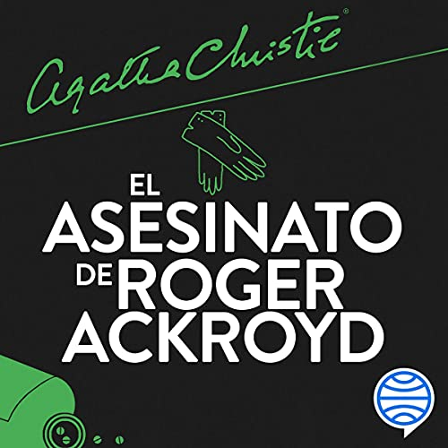 Diseño de la portada del título El asesinato de Roger Ackroyd