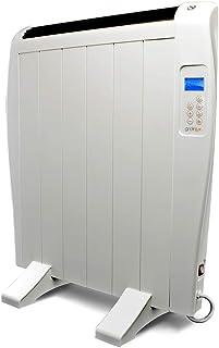 gridinlux. Homely Atmosphere 900W. Emisor Térmico, Radiador Eléctrico, 6 Elementos, 3 Modos, Mando de Control, Temporizador, Pantalla LED.