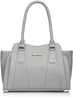Aisna Women's Handbag(Grey,ASN-144)