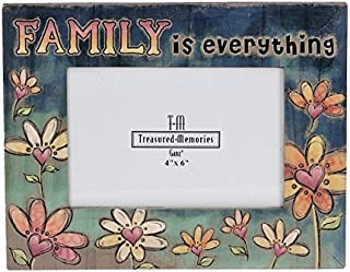 Ganz Family is Everything 4x6 Picture Frame