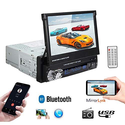 Polarlander Autoradio-Player, unterstützt Bluetooth, Freisprecheinrichtung, Unisex, 9601