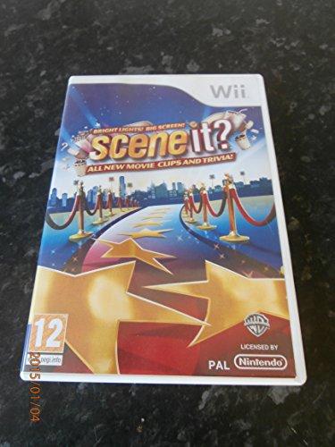 Scene It! Bright Lights Big Screen (Wii) [import anglais]