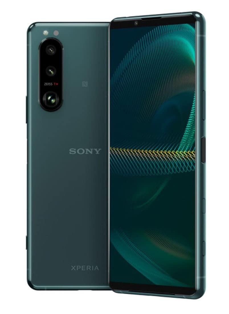 Sony Xperia 5 III XQ-BQ72 5G Dual 256GB 8GB RAM Factory Unlocked (GSM Only | No CDMA - not Compatible with Verizon/Sprint) International Version – Green