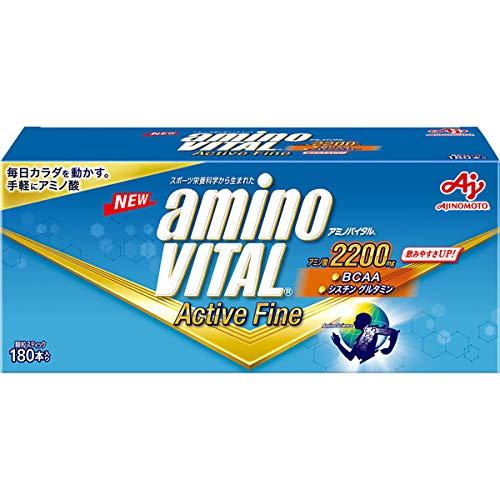 アクティブファイン 60本入×6箱 アミノバイタル 味の素株式会社