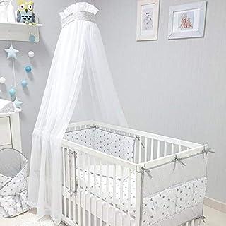 Zeke and Zoey Kinderbetthimmel zum Aufh/ängen f/ür M/ädchen oder Jungen mit leuchtenden Sternen The Bed Netting Will Light up Your Childs own Galaxy