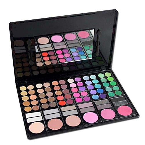 LAEMALLS 78 Farben Lidschatten Makeup Palette, Profi Matt Schimmern Nudetöne Leuchtende Glitter Eyeshadow Kosmetik Palette, Geeignet für den täglichen Gebrauch#2