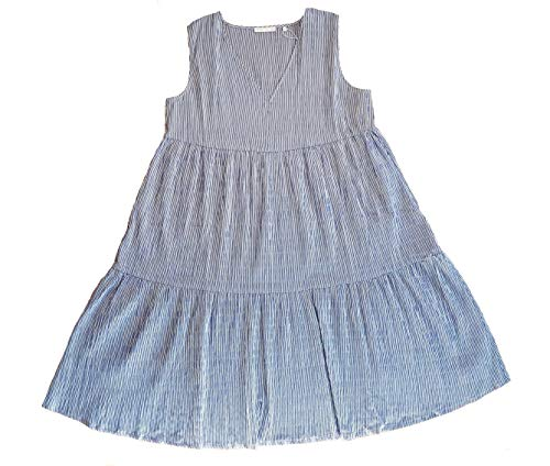 rich&royal Damen Midi Dress Kleid, Blau (Deep Indigo 786), (Herstellergröße: 40)