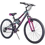 Huffy 26' Trail Runner Women's Mountain Bike, Black & Pink