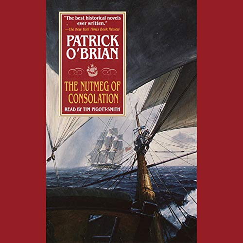 The Nutmeg of Consolation audiobook cover art