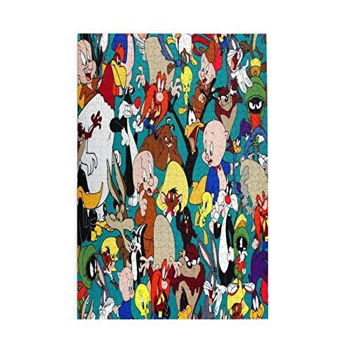 Custom made Looney Tunes - Rompecabezas para adultos (1000 piezas)