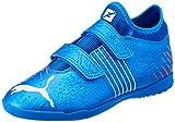 Puma Future Z 4.2 IT V Jr, Zapatillas de fútbol Sala, Bluemazing Sun, 35 EU
