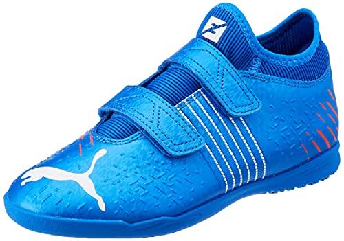 Puma Future Z 4.2 IT V Jr, Zapatillas de fútbol Sala, Bluemazing Sun, 33 EU