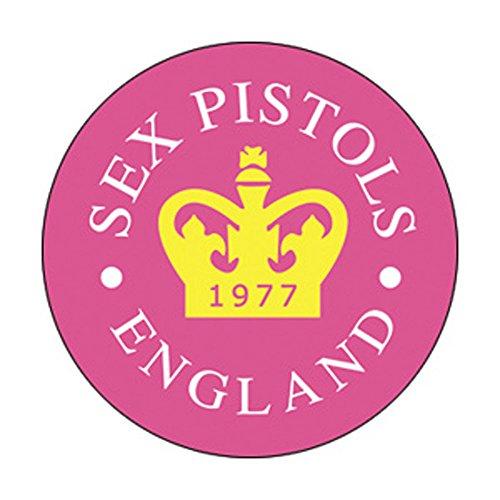 "Sex Pistols - 77 Crown - Pinback Button 1"""